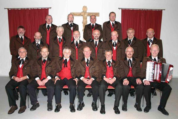 Der Männerchor im Musik- und Heimatverein Hinterschmiding