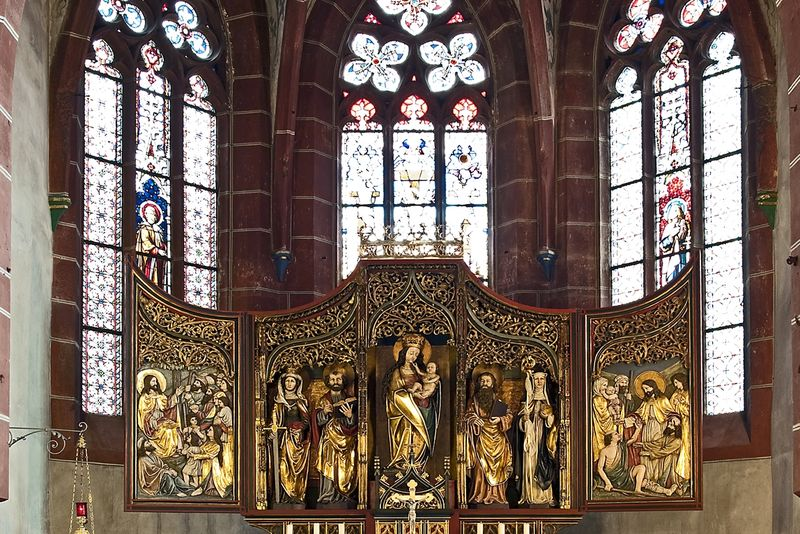 Altar in der Karmeliter Klosterkirche