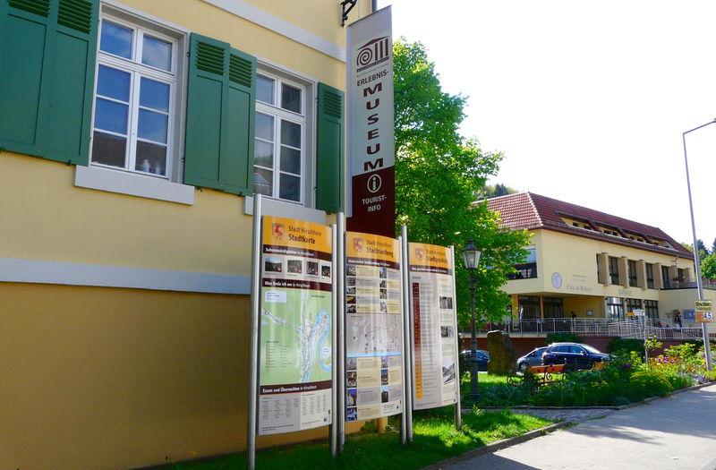 Tourist-Information Hirschhorn - umweltpädagogische Station