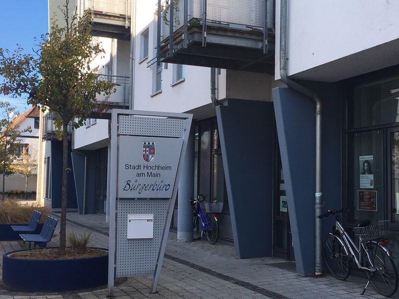 Eingang Bürgerbüro