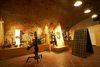 Innenansicht eines Raumes im Hochheimer Weinbaumuseum