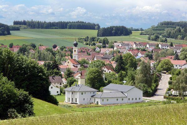 Panorama von Hörgertshausen