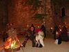 Hexentanz bei der Walpurgisnacht auf der Burgruine Hilgartsberg