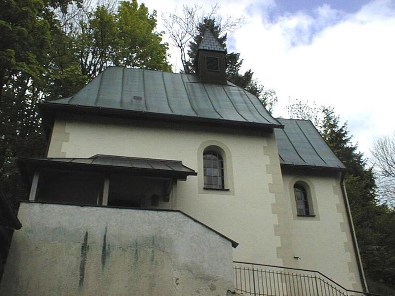 Blick auf die Erasmus-Kapelle in Buchberg, Ortsteil der Gemeinde Hohenau