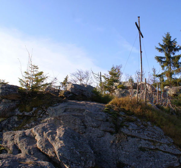 Die Große Kanzel im Felswandergebiet rund um Schönbrunn am Lusen