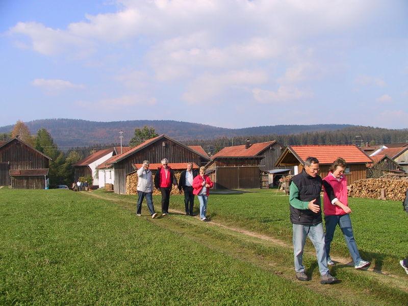 Durch Dörfer und Fluren am Kulturthemenweg Hohenau – Schönbrunn am Lusen
