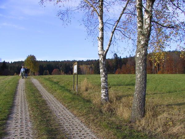 Wandererlebnis auf dem landwirtschaftlichen Lehrpfad in Schönbrunn am Lusen