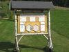 Infostation am Saulorner Bienenlehrpfad bei Hohenau