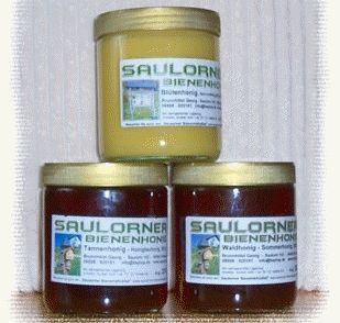 Honig vom Saulorner Bienenlehrpfad bei Hohenau