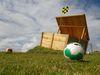 Fußballgolf-ein Spass für die ganze Familie