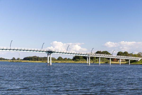Brücke über das Wangermeer in Hohenkirchen