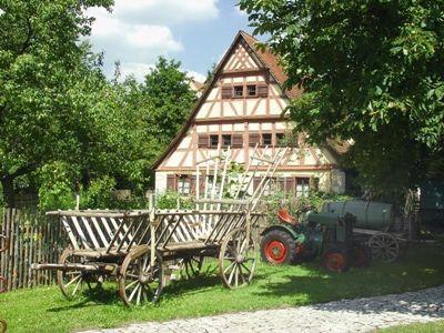 Bauernhausmuseum-Oedenwaldstetten Außenansicht Haus 1