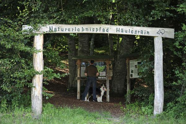 Eingang Naturerlebnispfad