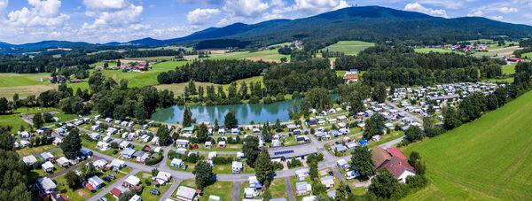Der Campingplatz in Hohenwarth