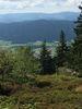 Blick vom Kaitersberg über den Naturpark Oberer Bayerischer Wald