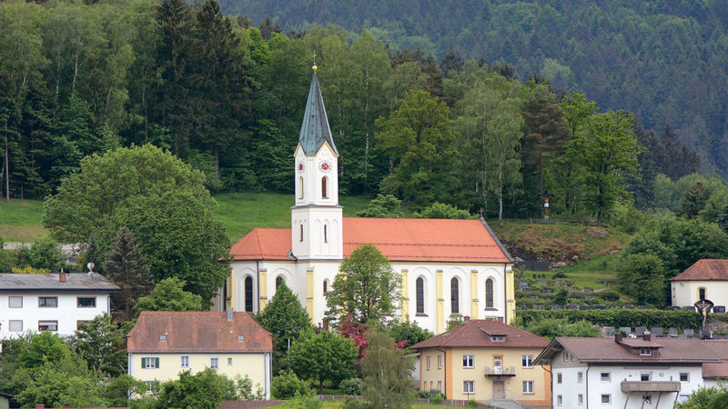 Kirche in Hohenwarth