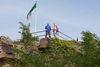 Aussichtsplattform Festungsruine Hohenburg in Homburg