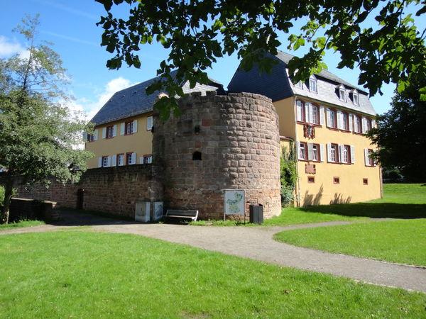 Gustavsburg am Schlossweiher in Jägersburg