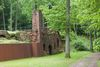 Orangerie-Ruine im WaldPark Schloss Karlsberg in Homburg