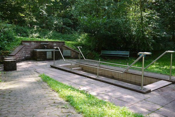Kneipp-Anlage Eberhardsbrunnen in Homburg-Einöd