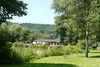 Fischerhütte und Fischweiher in Homburg-Beeden