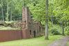 Ruinen der ehemaligen Orangerie im WaldPark Schloss Karlsberg in Homburg