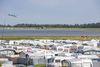 Stellplätze auf dem Campingplatz Hooksiel
