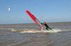 Windsurfen auf der Nordsee