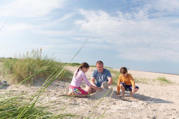 Geocaching am Strand von Schillig