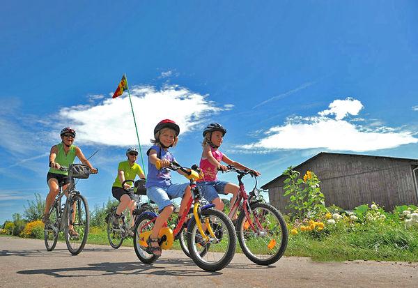 Die Baar lädt zu herrlichen Radtouren für Groß und Klein ein
