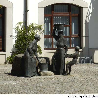 Rathausbrunnen in Hülben