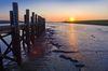 Sonnenuntergang am Dockkoog