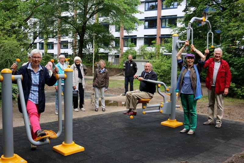 Bewegungspark im Schlosspark