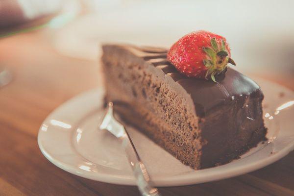 Ein leckeres Stück Torte