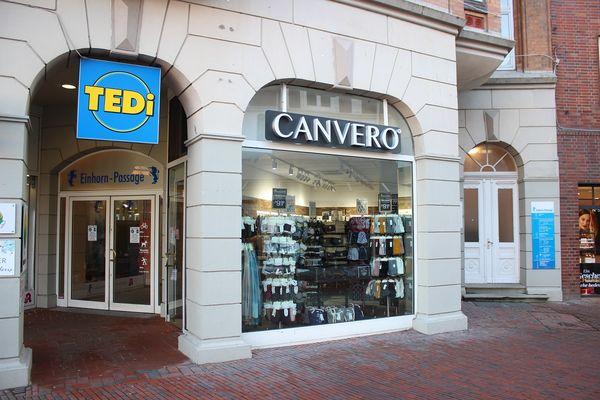 Geschäft Canvero in der Husumer Einhornpassage