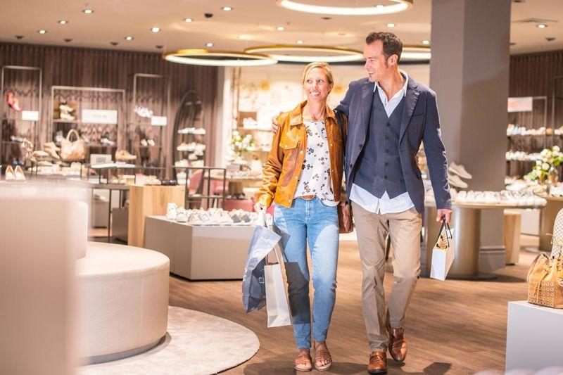 Shopping-Bummel bei CJ Schmidt