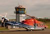 Flugbetrieb am Flughafen Husum