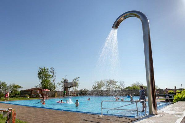 Badespaß im Freibad Schobüll
