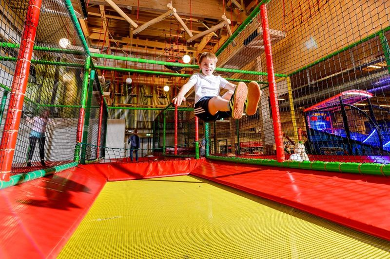 Trampolin im Fun Center Husum