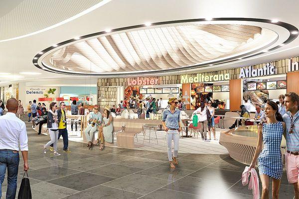 Husum Shopping Center Innenansicht