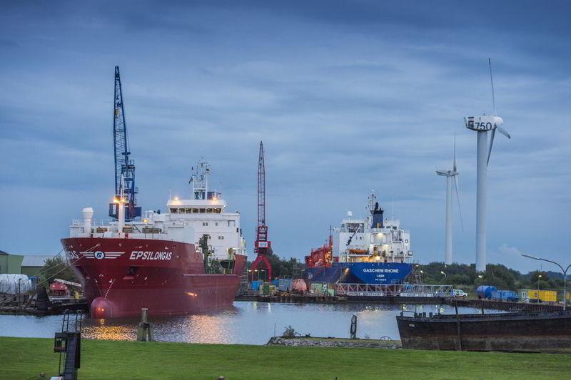 Husumer Dock und Reparatur GmbH & Co. KG (HDR) / Schiffswerft Hafen Husum