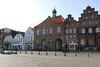 Blick aufs Historische Rathaus vom Marktplatz aus