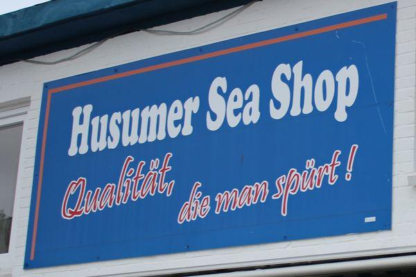 Husumer Sea Shop - Teil der Außenfassade