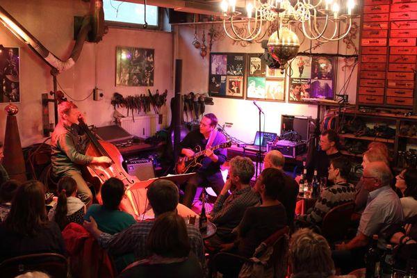 Live-Musik im Jazzclub Englischer Bahnhof