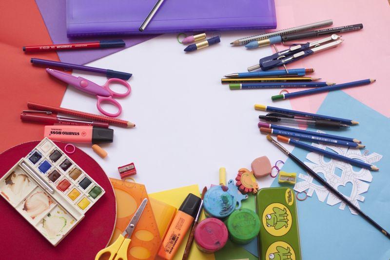 Symbolbild Kreativität und Basteln