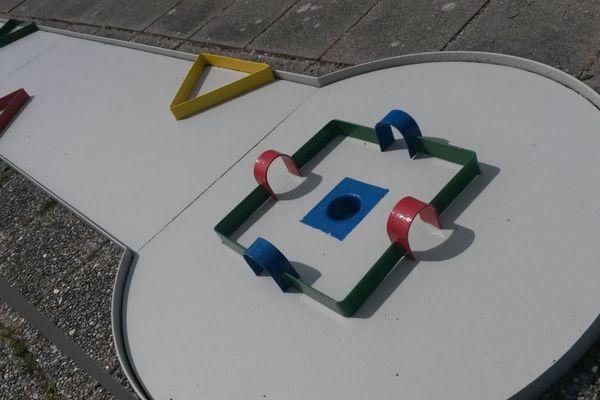Minigolfbahn Schobüll