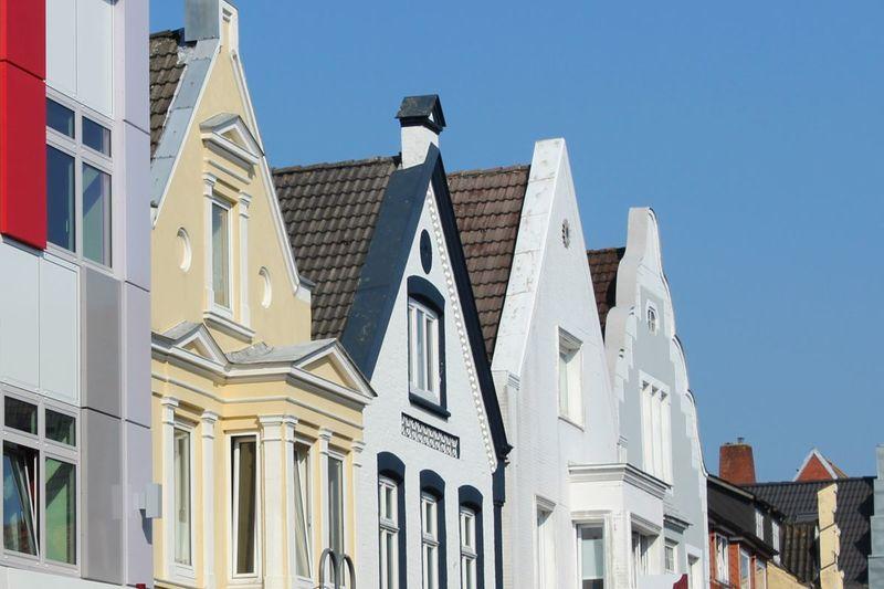 Norderstraße Husum, Giebel