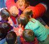 Kinder im Nordfriesland Museum. Nissenhaus