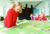 NordseeMuseum - Nissenhaus Kind am Modell