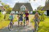 Fahrradtour mit der Familie in der Husumer Bucht